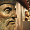 Deck 1 is home to busts of famous explorers.