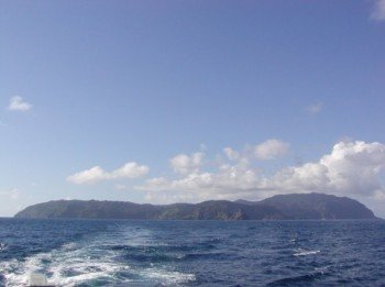 View of Coco Island