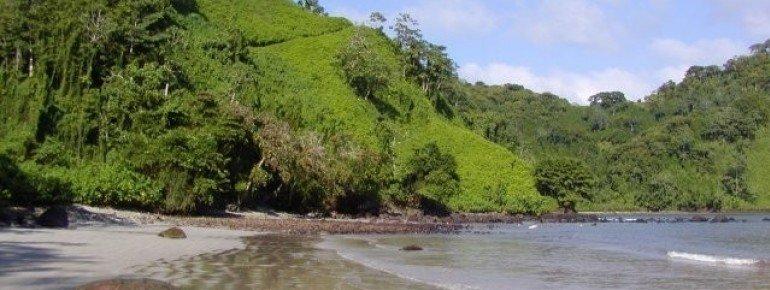 Catham-Bay on the Isla del Coco