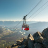 The Jasper SkyTram is the highest cable car in Canada.