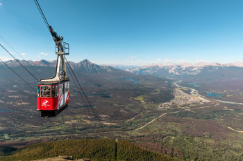 The SkyTram is operating from March until October.