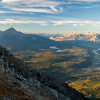 Whistlers Mountain is located in the Jasper National Park.