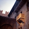 Juliet's famous balcony in Verona was actually a sarcophagus, and was added to the building afterwards.