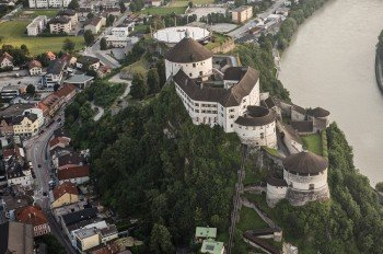 Kufstein Fortress is one of the most important monuments in all of Tyrol.