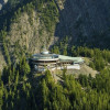 Mountain station of the Lake Louise gondola