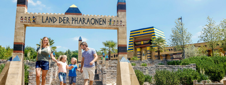 The new Land of the Pharaohs.