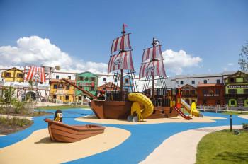Pirate ship in LEGOLAND.