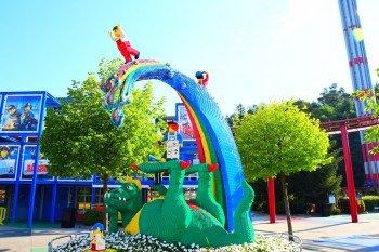 Legoland Deutschland features throusands of models made of more than 57 million lego bricks.