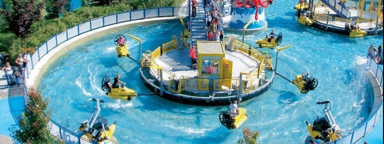 Ride the waves at Lego X-Treme World