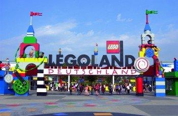 Entry to Legoland Deutschland.