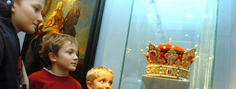 A replica of the prince's crown