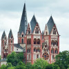 You can't miss the Limburg Cathedral.