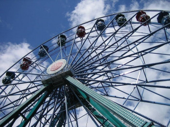Linnanmäki offers rides and attractions for visitors of all ages.