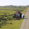 The hut at Ostlandweg gives a good overview over LIFE project 'meadow birds'.