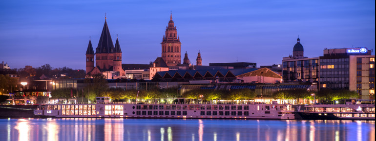 The Mainz Cathedral is about 1,000 years old.