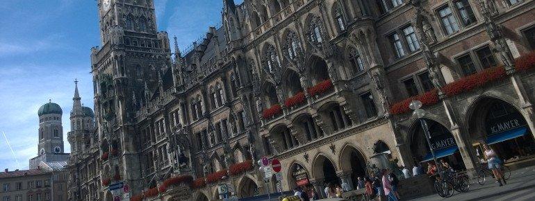 Marienplatz is the vibrant centre of Munich.
