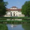 Garden near Lustheim Palace.