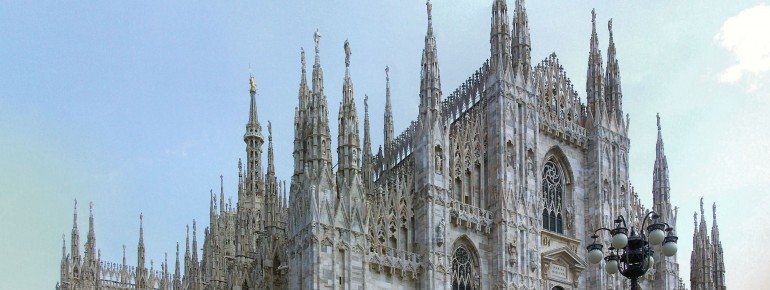 The impressive Chathedral of Milan