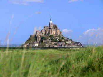 View to Mont Saint-Michel