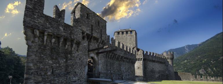 Montebello is one of three castles in Bellinzona.