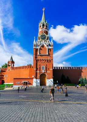 The Kremlin's walls look back on a history of centuries.