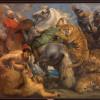 "Peter Paul Rubens (1577-1640), ""Tiger Hunt"", around 1617-1618. oil on canvas"