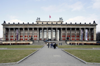The Lustgarten (Pleasure Garden) is located by the Old Museum.