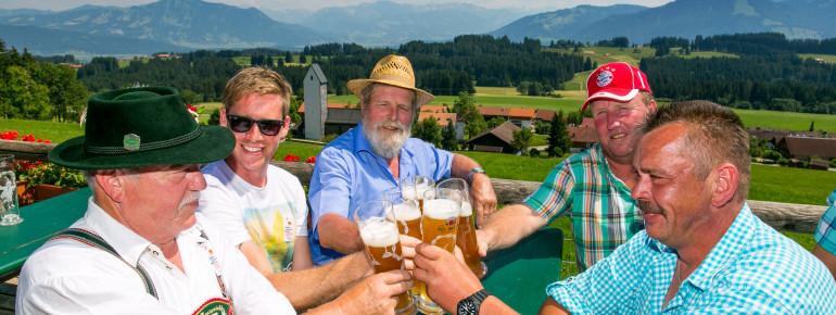 Enjoy a cold beer after your visit.