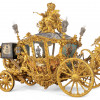 King Ludwig II's new gala carriage at the Marstall museum.