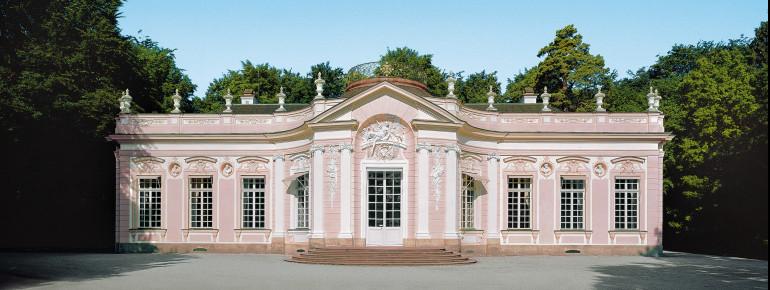 Amalienburg at the palace garden.