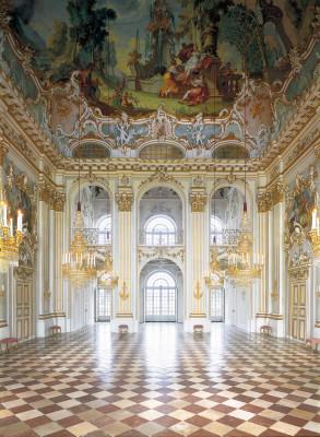Ballroom at Nymphenburg Palace.