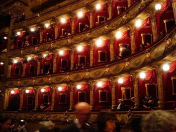The boxes of the opera