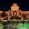 The palais at night