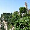 View of Tremosine by Lake Garda.