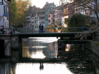 The romantic little bridges of Petit France