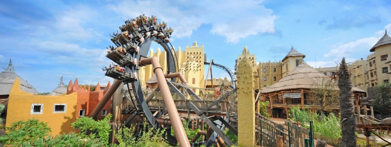 Action-packed fun on Black Mamba.