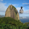 Cableway taking visitors to Sugarloaf Mountain