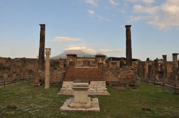Remains of the Apollo Temple