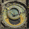 The astronomical clock in Prague.