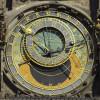 The astronomical clock in Prague.