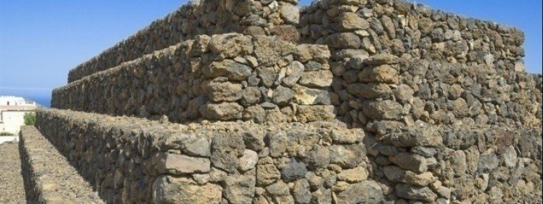Stone pyramid in Güímar
