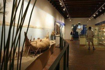 Inside the museum of Güímar