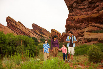 Red Rocks offers plenty of recreation options, such as guided tours, hiking, biking, shopping, and dining.