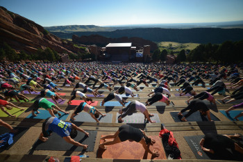 There are some amazing events going on at Red Rocks Amphitheatre besides hosting breathtakingly gorgeous concerts.