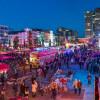 Reeperbahn Festival in late September is Europe's largest club festival.