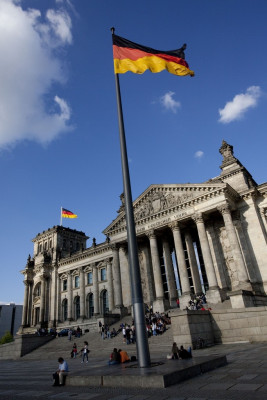 This is where the German parliament meets.