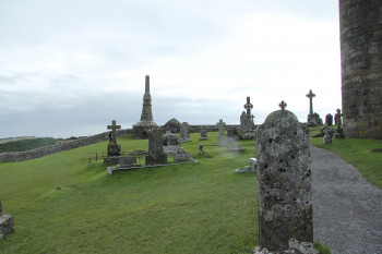 Tombs on the Rock of Cashel