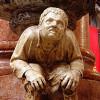 One of the hunchback statues of Gabriele Caliari