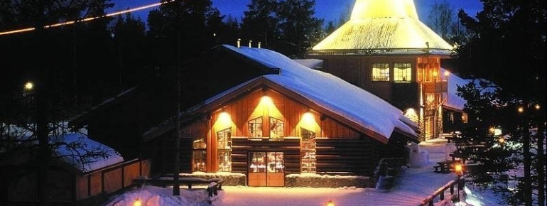 Rovaniemi Santa Park, Finland