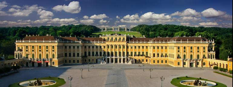 Front View of Schönbrunn Palace
